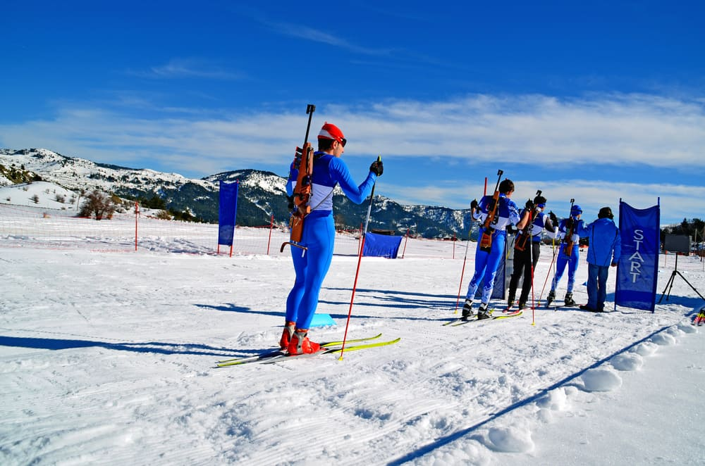 Biathlon - bieg ze startu wspólnego