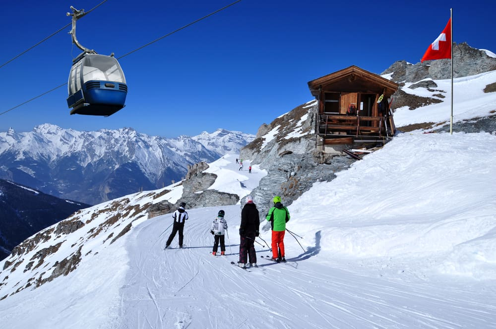 Szwajcaria - wyjazd na narty