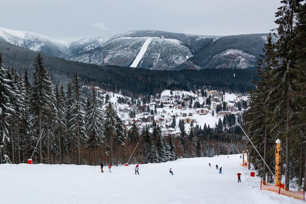 Szpindlerowy Młyn - najpopularniejszy ośrodek na wyjazd na narty w Czechach